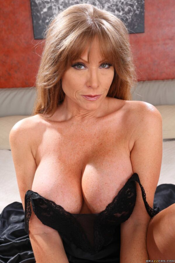 Busty mom darla crane takes bbc in front of son 6