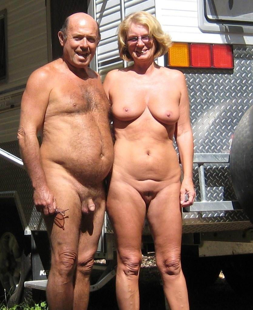 older couples nudist club