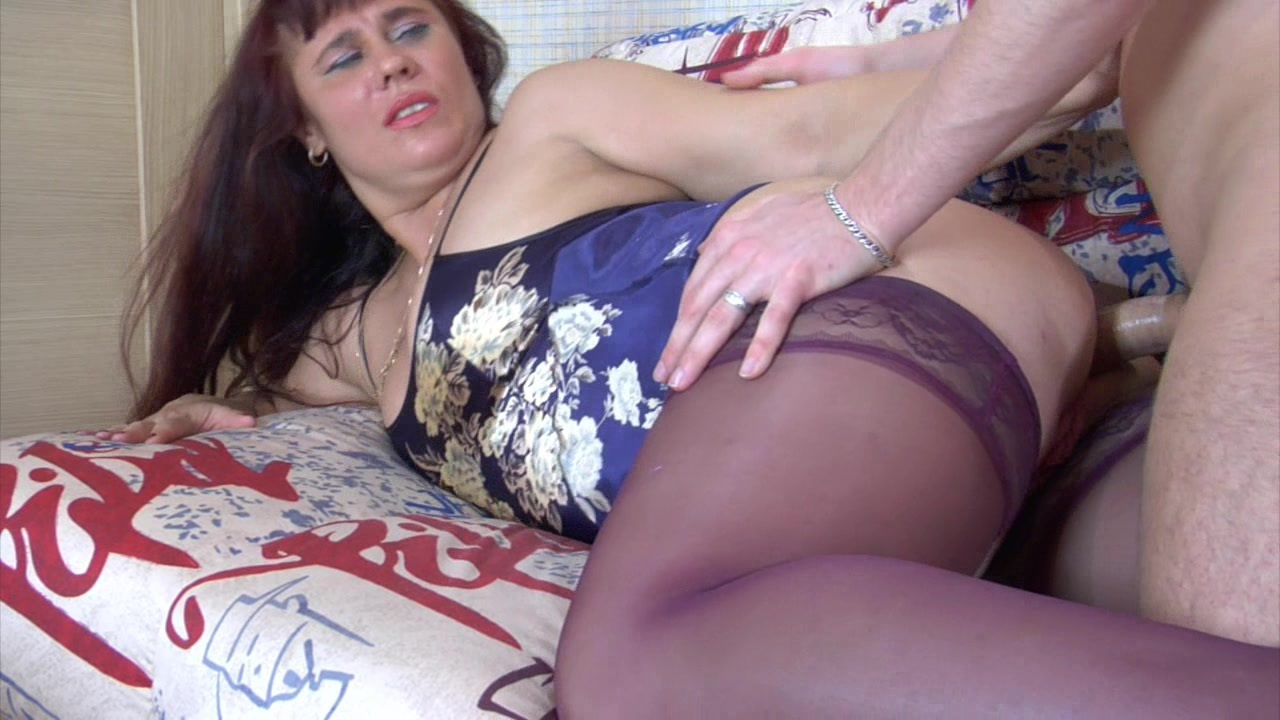 Hot milf russian fuck