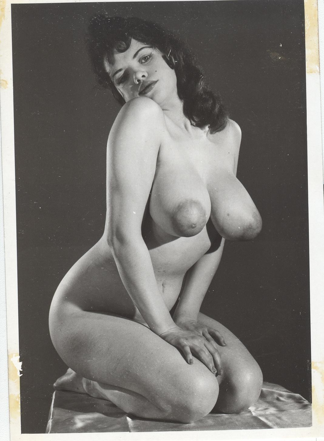 Are vintage big tits nude