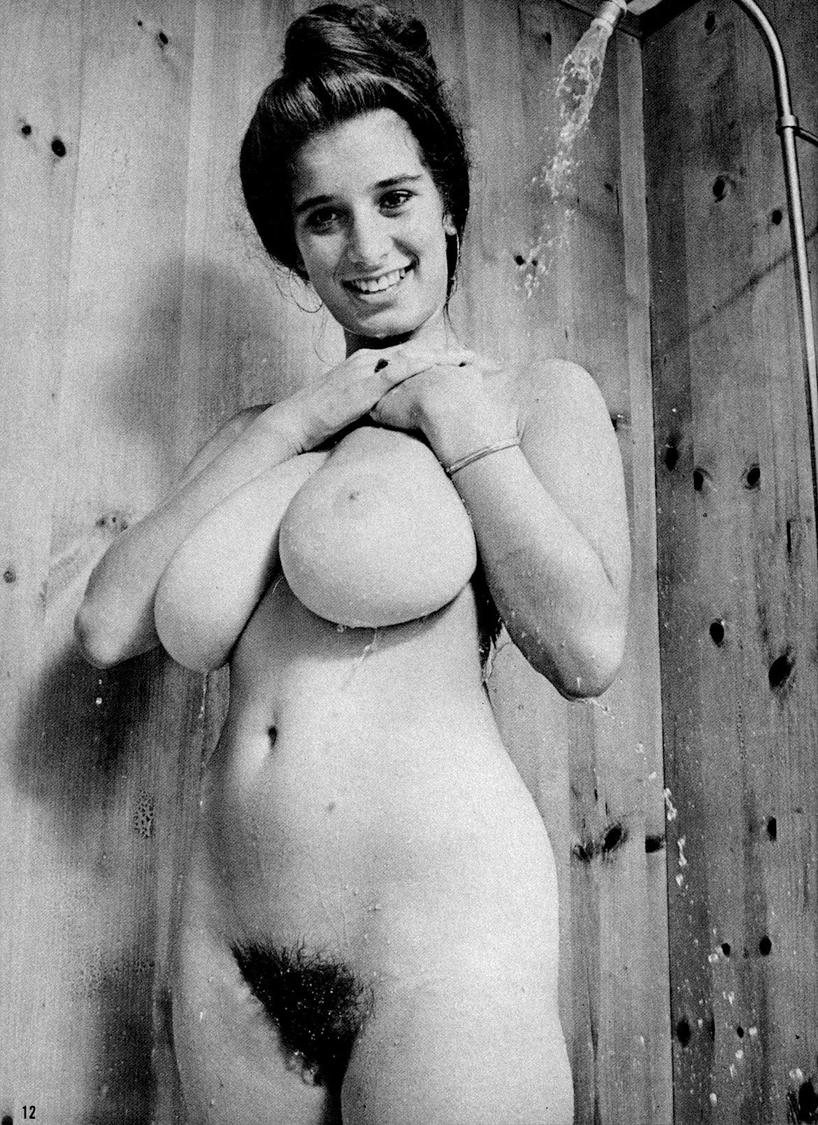 Retro vintage big boobs nude think, that