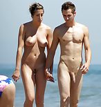 Perfect nude couple beach 1191X1264 jpeg