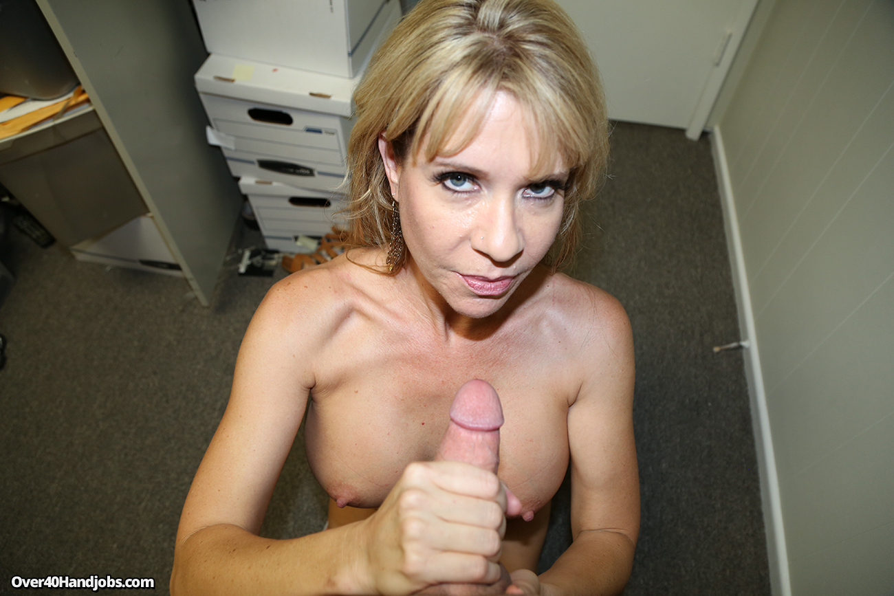 horny milf hand job - adult archive