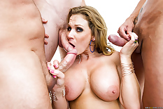Surrounded by cocks cum covered 800X532 jpeg