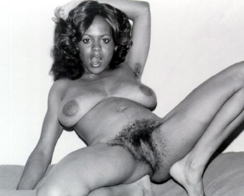 Can black and white retro vintage hairy pussy apologise