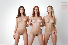 Blonde brunette redhead group nude 1130X753 jpeg