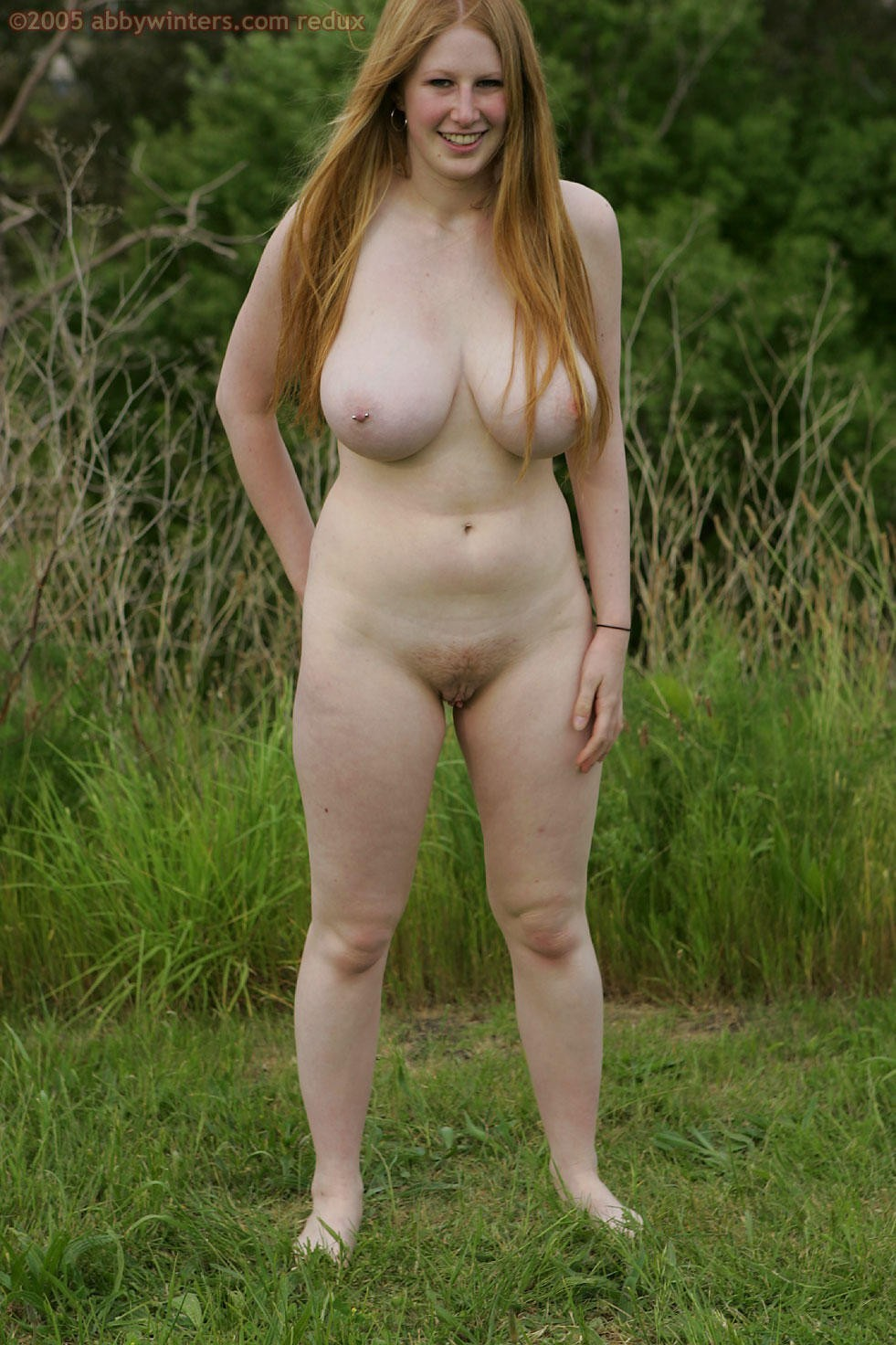 Sexy naked geeky girl