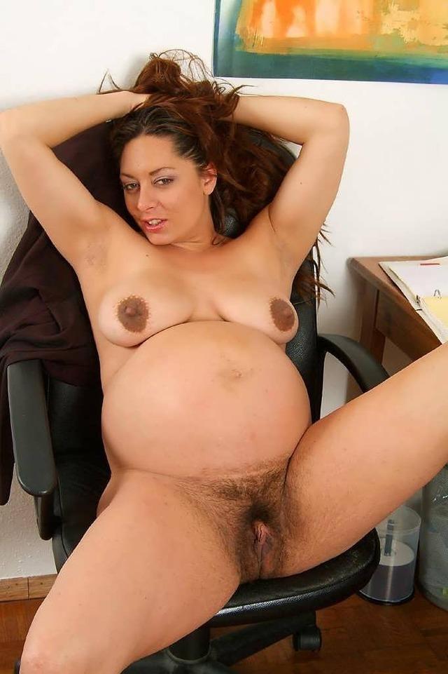 Naked pregnant latina