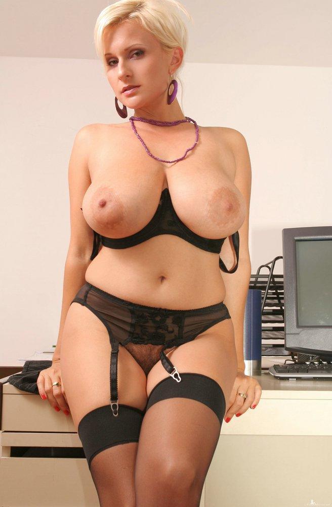 Hot busty milf lingerie