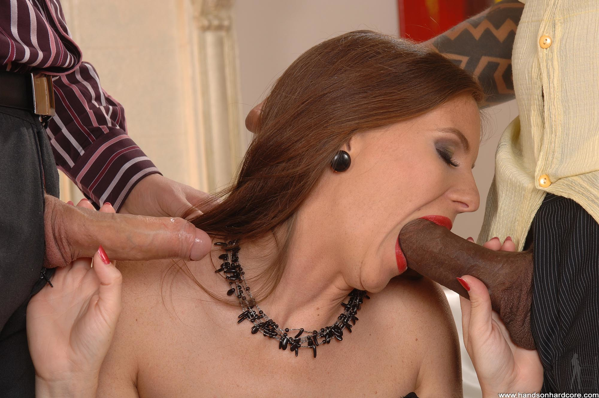 Ziya tong sucking cock