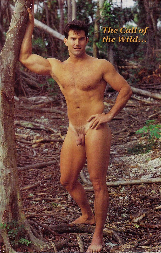 Models vintage nude male