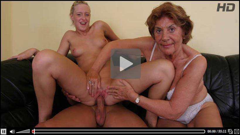Oma Sex Mit Enkel