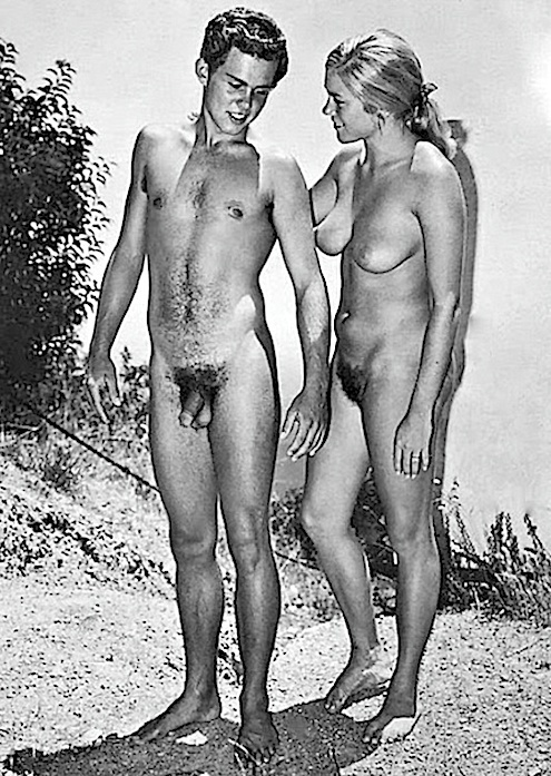 vintage nude couples