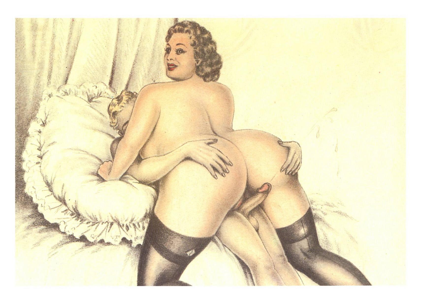 vintage sex art